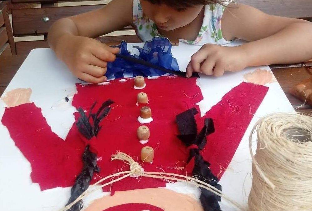 Praca plastyczna Dzieci świata