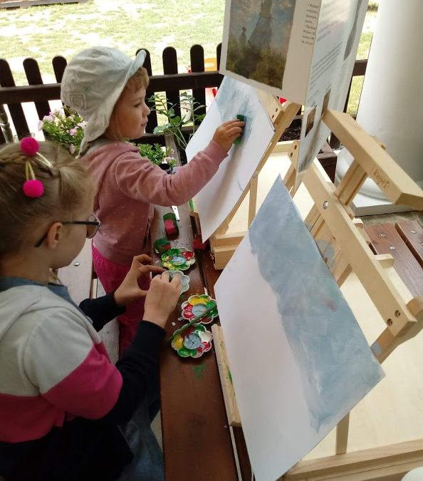 Mali artyści w przedszkolu